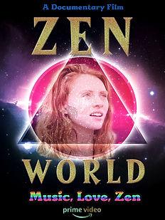 ZenWorldPoster2020.jpg, Zen World, Documentary, Film, Amazon, Zen, Julie Wilder, Orlando, Florida