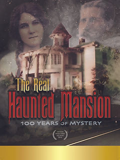 The Real Haunted Mansion, Poster, Artwork, Documentary, Brett Gerking, Motion Picture Video, Russ House, Dale Cox