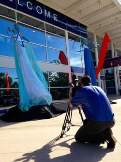 The Orlando Eye Production Shoot