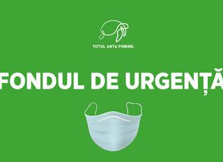 Asociația TOTUL ESTE POSIBIL a inițiat proiectul FONDUL DE URGENȚĂ