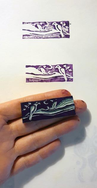 Selo p compor uma nova tattoo 💜 passarinho e Pico do Itacolomy.