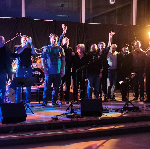 Musiker des Abends