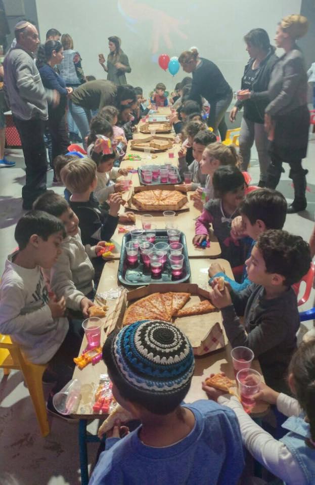 הפסקת אוכל ביום הולדת בג'ימבולנד