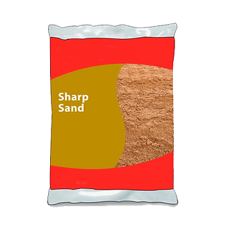 25kg Small Sharp Sand