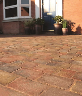Bradstone Woburn Rumbled Block Paving