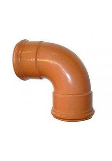 110mm 90° Bend Single Socket