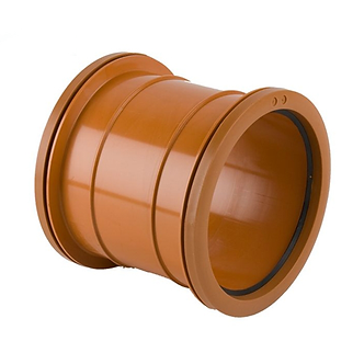 110mm Pipe Coupling Double Socket