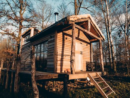 STAYCATION: Ga op vakantie in één van deze Belgische cabins