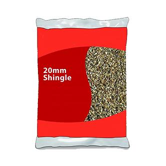 25kg 20mm Shingle