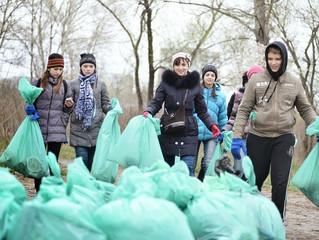 """130 тисяч волонтерів взяли участь в акції """"Зробимо Україну чистою!"""""""