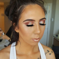 GLITTER _ Another festival themed makeup