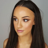 RACE DAY _ makeup on the stunning _mila.