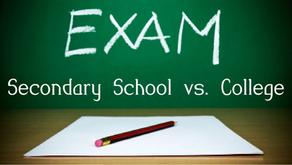 Education Column 3: 고등학교 시험 VS. 대학교 시험