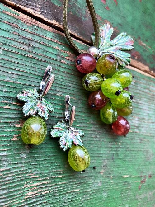 Gooseberry pendant