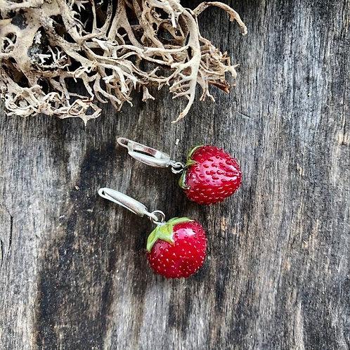 """Earrings """"Strawberry"""""""