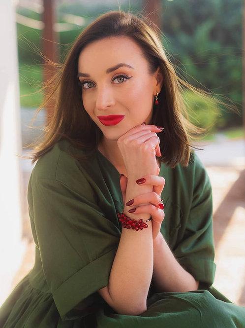 Pomegranate bracelet