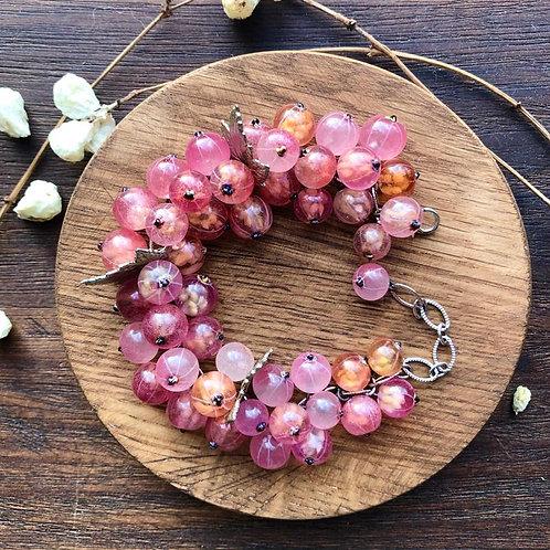Pink Currant bracelet