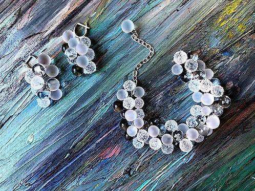 "Earrings ""Bride"""