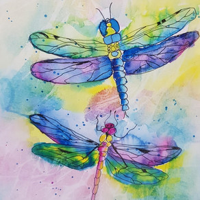 Live Zoom Workshop Monday 9th November 5pm-7pm - Butterflies