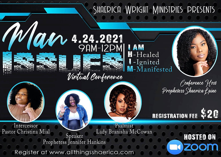 Registration For The Man Issues Conference Virtual Experience