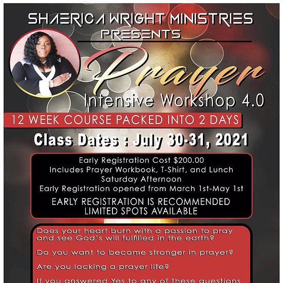 Prayer Intensive Workshop 4.0