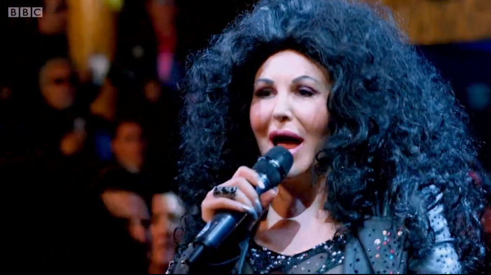 Cher Tribute BBC TV