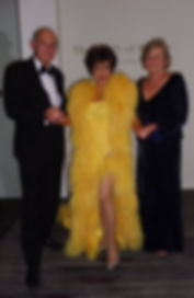 Dame Shirley Bassey Meets Sir Vince Cable And His Wife Rachel