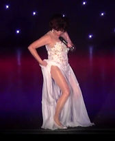 Dame Shirley Bassey In Concert Divas Are Forever Replica Gown