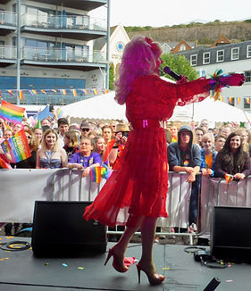 Dolly Parton Tribute appears for Channel Islands Pride Jersey 2016