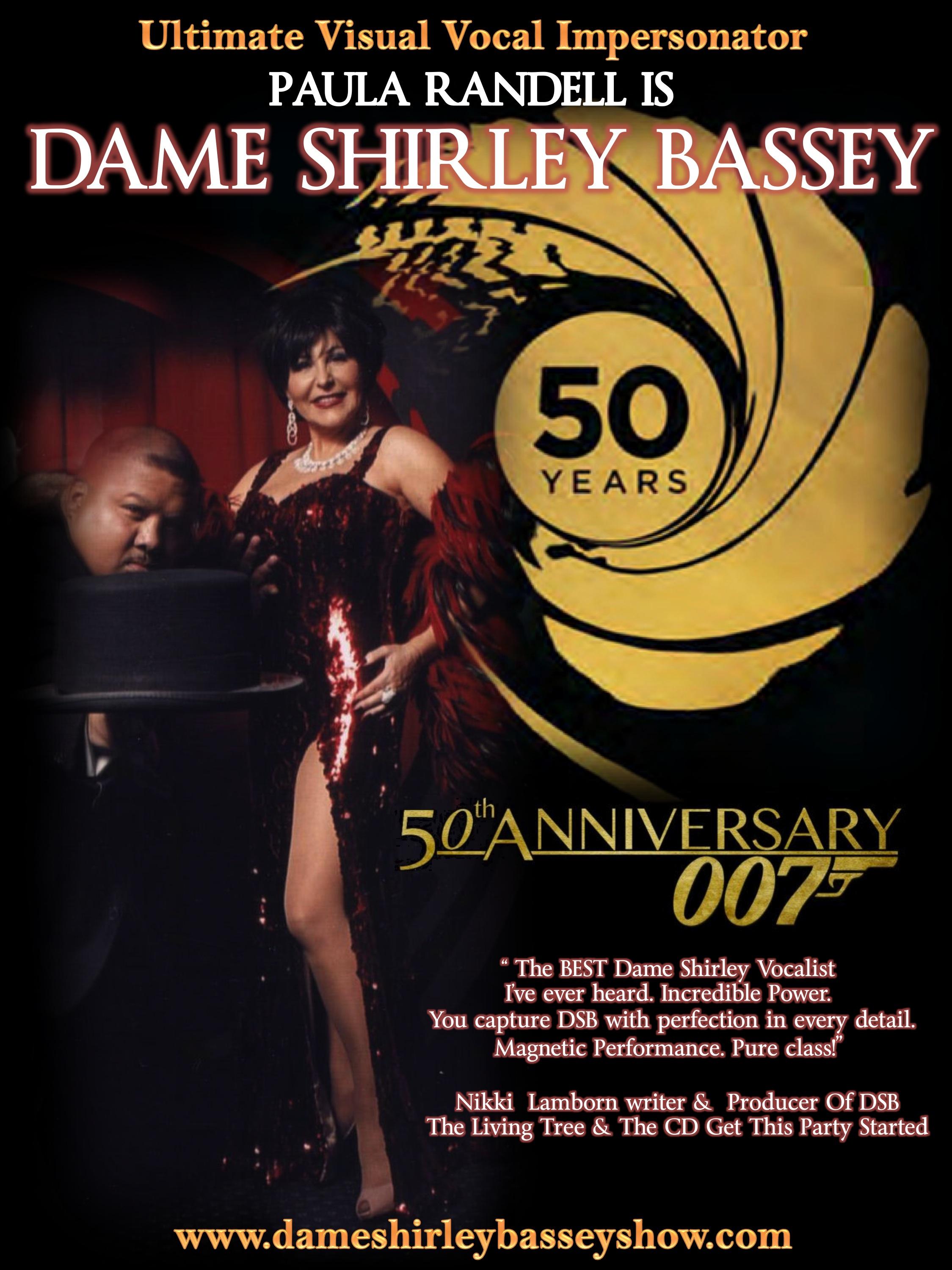 Shirley Bassey Tribute James Bond