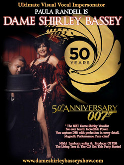 Shirley Bassey Tribute James Bond