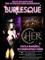 Cher Tribute Burlesque Movie Poster Paula Randell