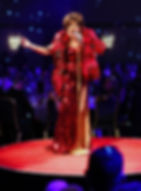 Dame Shirley Bassey Impersonator/Tribute Performs For 600 guests At The NEC Metrolpole Birmingham