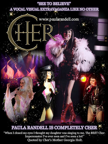 Cher Combo Poster