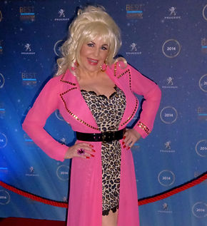 Dolly Parton Tribute Lookalike Peugeot Country Music Awards