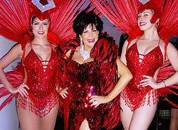 Shirley Bassey Tribute Las Vegas Showgirls Abi Wightman