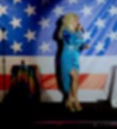 Dolly Parton Tribute Lookalike Bany I'm Burnin