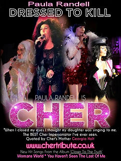 Paula Randell Cher Tribute Replica Costumes
