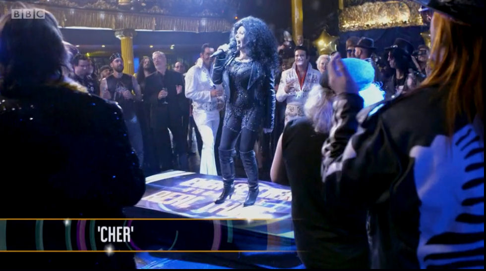 Cher Tribute Lookalike BBC