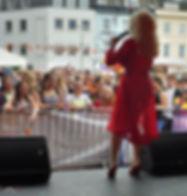 Dolly Parton Tribute Impersonator Channel Islands Pride