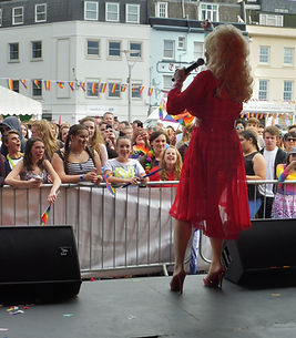 Dolly Parton Tribute On Stage Jersey Pride