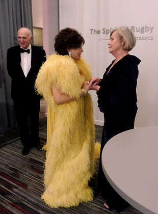 Dame Shirley Bassey Meets Sir Vince Cable & rachel Cable