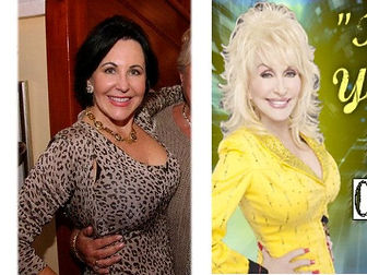 Dolly Parton Tribute Lookalike Comparison Photo Paula Randell