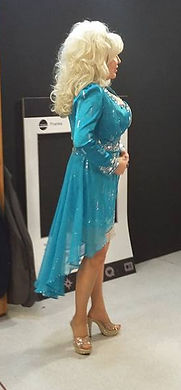 Dolly Parton On TV Set