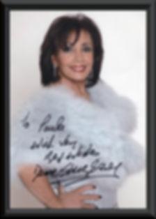 DSB Autographed Photo Testimonial