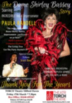 Shirley Bassey Theatre Tour 2017