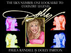 Dolly Parton Retro Poster