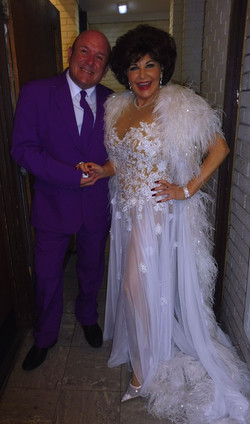 Shirley Bassey Tribute Backstage