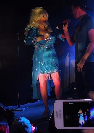 Dolly Parton Tribute Best Lookalike Paula Randell Best Lookalike Geurnsey Pride 2016