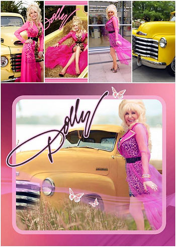 Dolly Parton Tribute Impersonator Poster